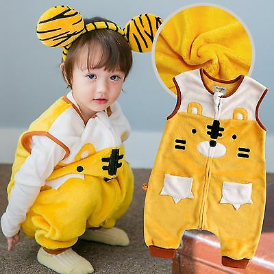 "Vaenait Baby Kids Boys Girls Super Soft Blanket Sleepsack ""Mf.Miu Tiger"" 1T-7T"