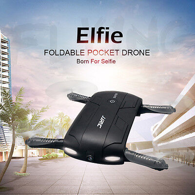 JJRC H37 Altitude Hold w/ HD Camera WIFI FPV RC Quadcopter Selfie Foldable Drone