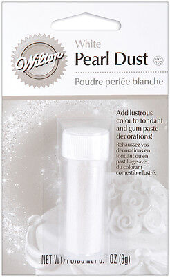 """Pearl Dust 3g-White, Set Of 4"""