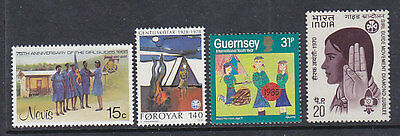 Worldwide, Scouting, Girl Guides - Scouts,  Mnh Stamps, Lot - 3