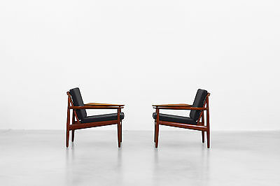 2 Lounge Chairs by Arne Vodder for Glostrup Møbelfabrik danishdesign mid-century