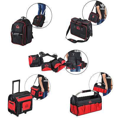 Large Rolling Mobile Tool Bag Heavy Duty Storage Organizer Multi-function Tote