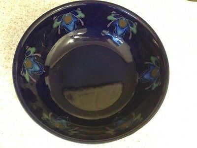 denby baroque large bowl and large round platter