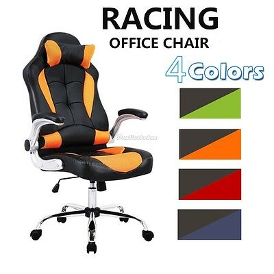 Executive Computer Racing Gaming Chairs Swivel Sport PC Adjustable Office Chair*