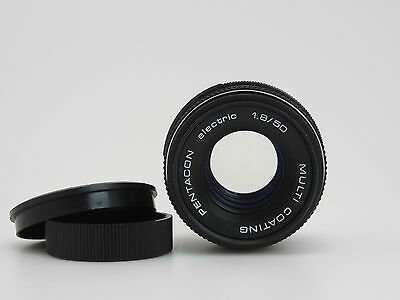 Pentacon electric 1.8/50mm Multi Coating Objektiv #8003022 M42 cj061