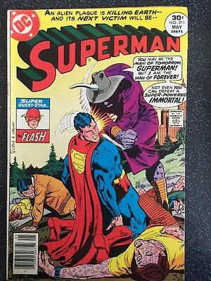 Superman Comic - 311 - May 1977 - Very Good Condition Dc