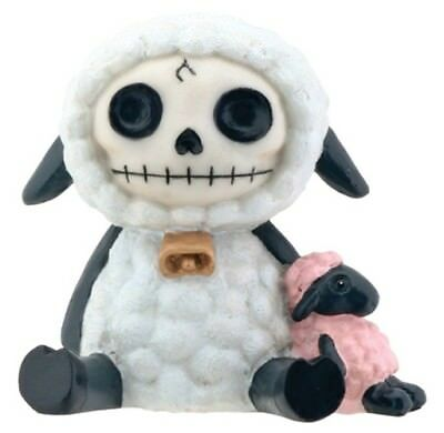 FurryBones Wooolee Figurine Sheep Cute Skull Skeleton Cool Gothic Gift Different