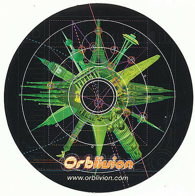 The Orb Orblivion RARE promo sticker '97