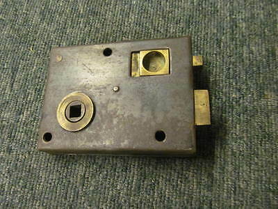 Vintage reclaimed rim latch -stripped of paint - in good working order -RL164-