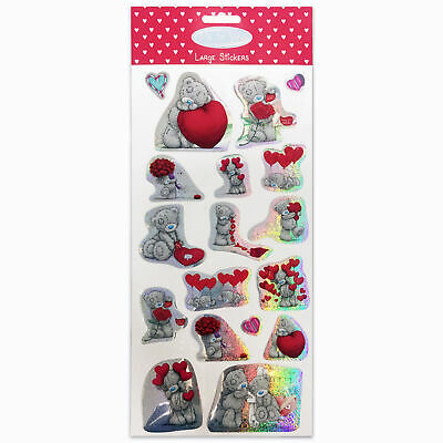 Me To You Tatty Teddy Stickers Valentine Large 01