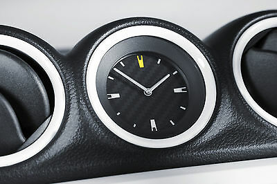 New Suzuki Vitara Carbon Clock With Chrome Surround