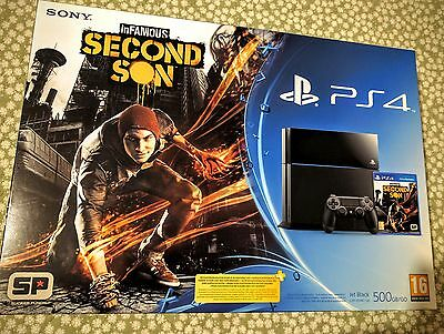 Sony Playstation 4 500 GB più gioco Infamous second son