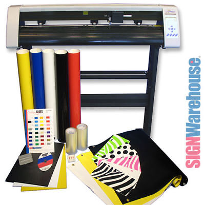 "31"" Vinyl Cutter Bundle & Software Machine Best Cutter Vinyl Vinly Sign Plotter"