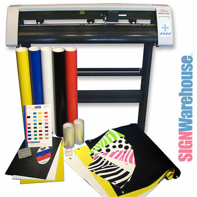 Powerful Reliable Vinyl Cutter w/Software from SignWarehouse Vinly Sign Plotter