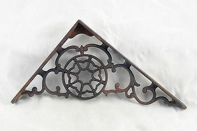 Original Cast Iron Victorian Shelf Brackets