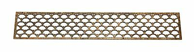 Decorative Long Art Deco Iron Grill