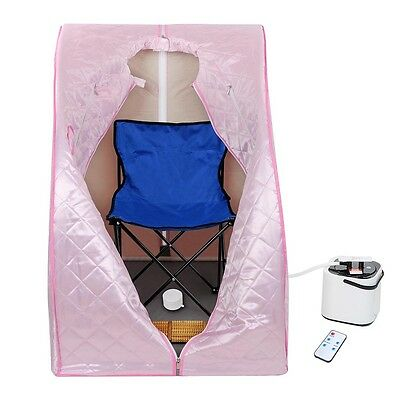 Portable Home Indoor Personal Steam Sauna Spa Slimming Full Body Detox