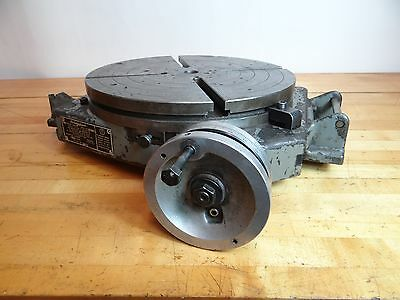 "Bridgeport 15"" T Slot Rotary Table"