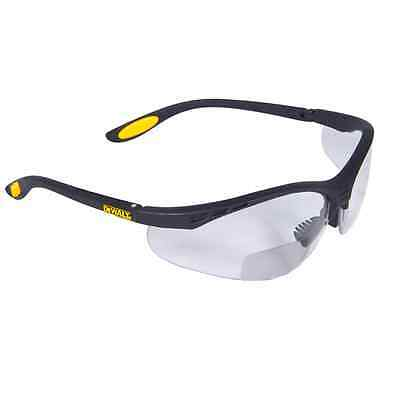 DeWalt Bifocal Reading Safety Glasses Clear Lens 1.5 RX Reader DPG59-115D