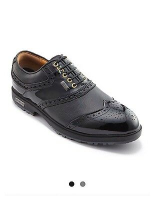 Stuburt Classic Tour Event Golf Shoes Size 9 Black