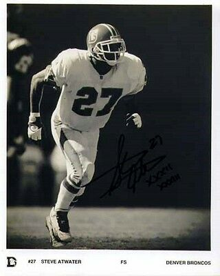 Steve Atwater - Broncos - Signed Photo - COA (10694)