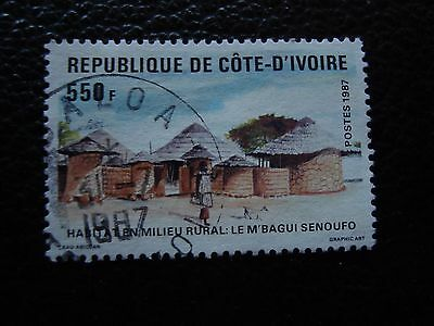 COTE D IVOIRE - timbre yvert/tellier n° 786 obl (A28) stamp