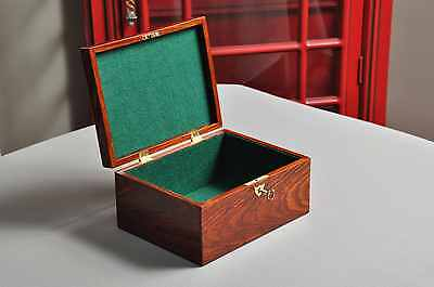 The Original Staunton Reproduction Chess Box - Handcrafted out of Cocobolo
