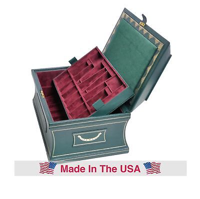 The Large Leather Chess Casket