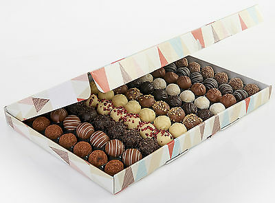 Lessiters Hand Finished Swiss Assorted Chocolate Truffles x 77pcs (1kg) Box