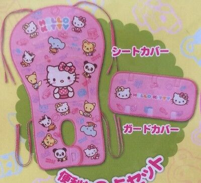 Japan Pinocchio Hello Kitty Baby Stroller Seat Liner / Baby Stroller Seat Cover