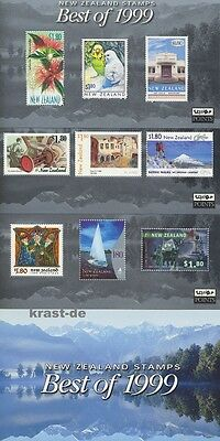 Neuseeland New Zealand - 2000 Best Of 1999 Schönste Marken - Block 106-108 **