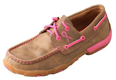 Twisted X Women's Breast Cancer Awareness Driving Moc WDM0018