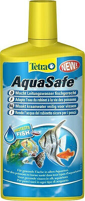 Conditionneur d'eau Aquasafe 500 ml Tetra pour aquarium • EUR 18,80