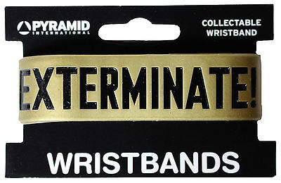 Official Doctor Who Dalek - Exterminate - Rubber Gummy Wristband