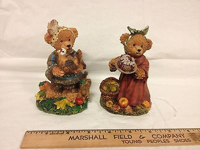 K's Collection Thanksgiving Bears (2 Total) Composite