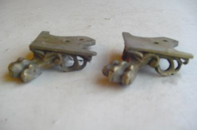 Two Clock Cast Brass feet