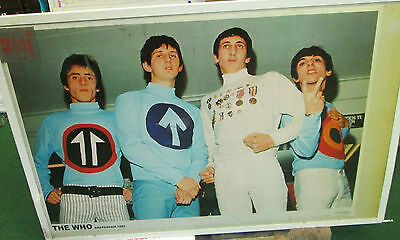 The Who  Poster Rare New Mid 2000's Vintage Collectable Daltry Amsterdam 1965