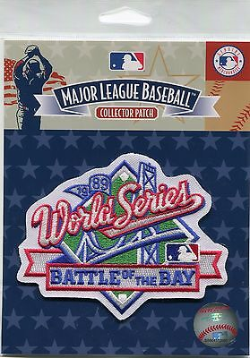 "Official Licensed 1989 MLB World Series ""Battle of the Bay"" Patch Giants vs A's"