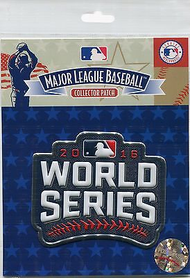 Official Licensed 2016 MLB World Series Patch Chicago Cubs vs Cleveland Indians
