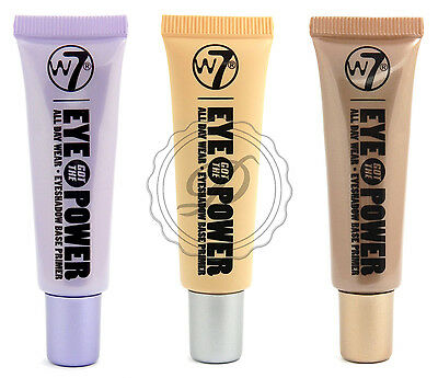 W7 Eye Got The Power - Choose From 3 - Eyeshadow Base Primer - Natural Shimmer M