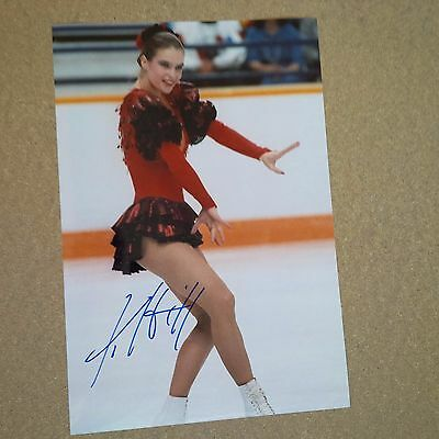 KATARINA WITT olympic winner 1984/88 IN-PERSON signed photo 8 x 12 autograph
