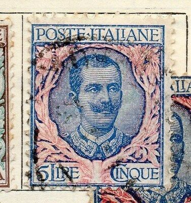 Italy 1901 Early Issue Fine Used 5L. 108998