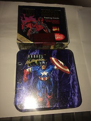 am selling 2 items 1993  Marvel Masterpieces Factory Sealed Boxs