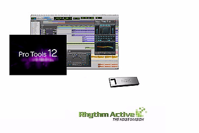 Avid/digidesign Pro Tools 12.7 Audio Music Software+Ilok V2-Institute 12 Month