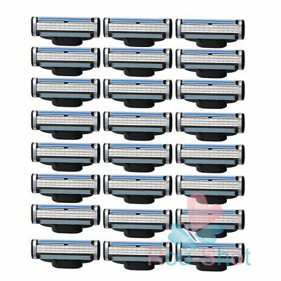24Pcs/Pack Generic Replacement Blades for Gillette Mach 3 Shaving Razor Hot Sell