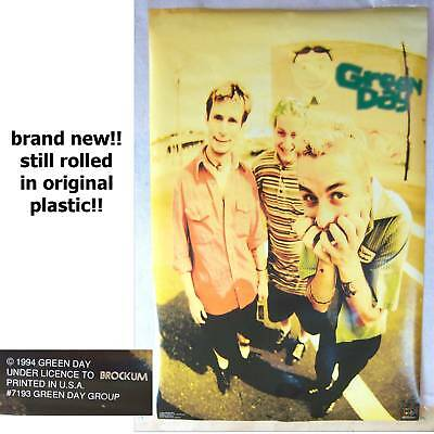 Green Day! Band Pic Original 1994 Poster New Sealed!!