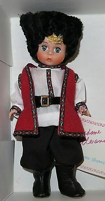 Vintage Madame Alexander Doll Cossack #511 w Tag & Box