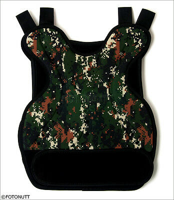 DIGITAL Camo Body Armor Tactical Paintball /Airsoft CHEST PROTECTOR 1¢ Auction
