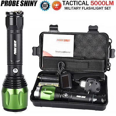 G700 X800 5000 Lumen CREE XML T6 LED Zoom Tactical Military