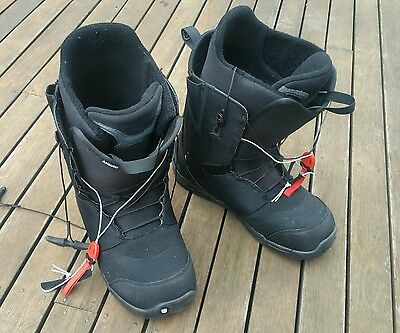 Men's Burton Snowboard Boots 31cm & US14 RRP $290 Nearly New!!!